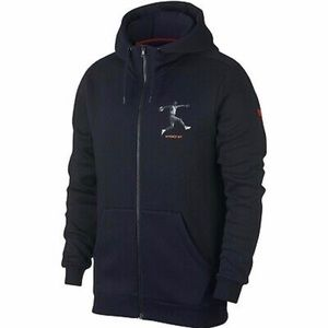 Air Jordan 5 Jumpman Full Zip Hoodie Size 4XL